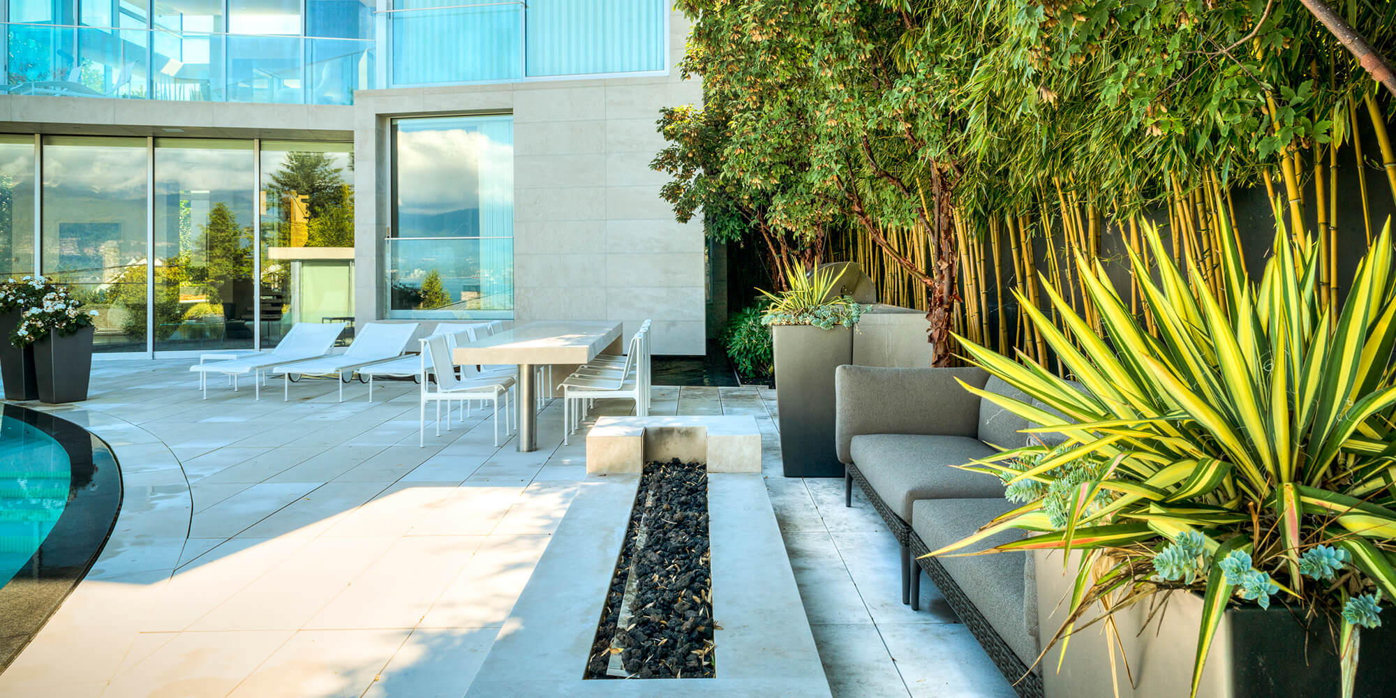 Specializing in creating lush scapes and outdoor living areas of all scales.